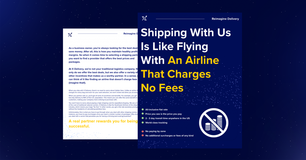zoneless shipping, shipping carrier optimization, non-asset based shipping carriers