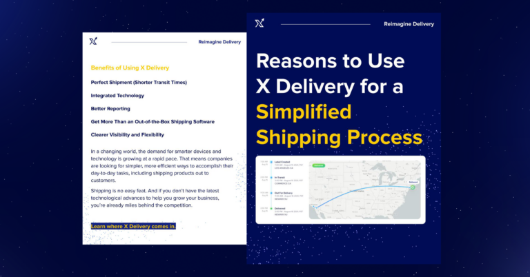 Reasons to Use X Delivery for a Simplified Shipping Process