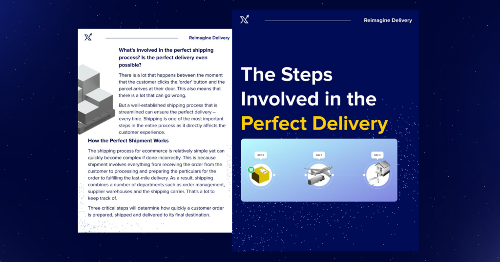 The Steps Involved in the Perfect Delivery | X Delivery