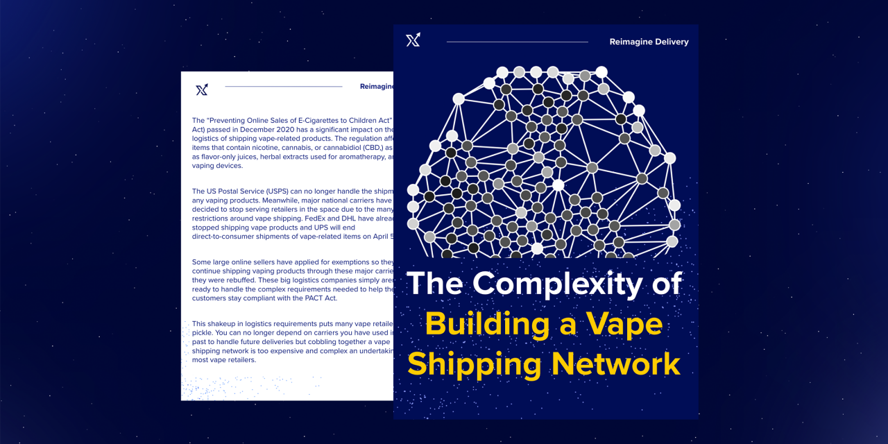 What It Took to Build a PACT-compliant Vape Shipping Network